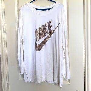 Nike tunic/sweatshirt